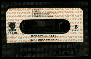 Mercyful Fate Dont Break The Oath RC Poland Cassette side 2