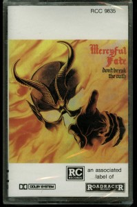 Mercyful Fate Dont Break The Oath RC Records cass sealed
