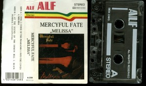 Mercyful Fate Melissa Alf Cassette