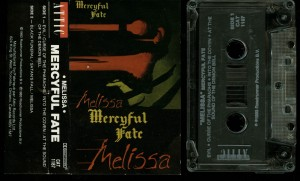 Mercyful Fate Melissa Attic Records Clear Tape