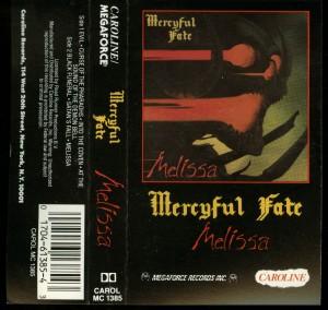 Mercyful Fate Melissa Caroline Cassette