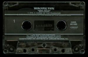 Mercyful Fate Melissa Caroline Cassette side a