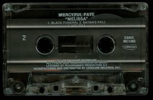 Mercyful Fate Melissa Caroline Cassette side b