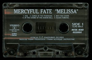 Mercyful Fate Melissa Cassette Metal Mind tape side 1