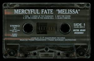 Mercyful Fate Melissa Cassette Metal Mind tape side 1