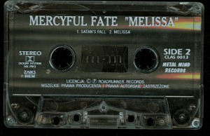 Mercyful Fate Melissa Cassette Metal Mind tape side2