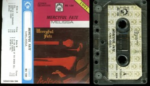 Mercyful Fate Melissa Cassette Poland MG Records
