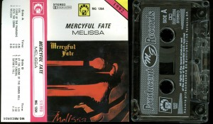 Mercyful Fate Melissa Cassette Poland MG Records Second Press