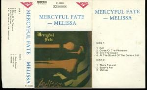 Mercyful Fate Melissa Cassette Polish Cassette Pony