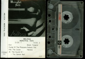 Mercyful Fate Melissa Deck cass