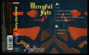 Mercyful Fate Melissa Koch cass