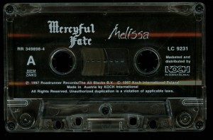 Mercyful Fate Melissa Koch cass side 1