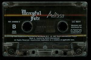 Mercyful Fate Melissa Koch cass side 2