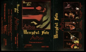 Mercyful Fate Melissa Megaforce First Press White Tape
