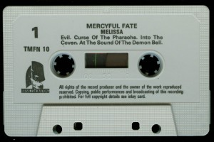 Mercyful Fate Melissa Music for Nations White Tape side a