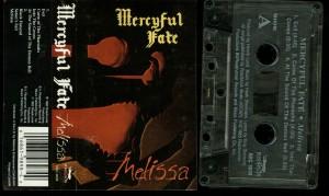 Mercyful Fate Melissa Roadracer Clear cass
