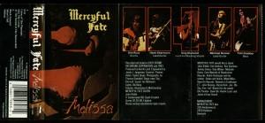 Mercyful Fate Melissa roadracer Clear cass inlay