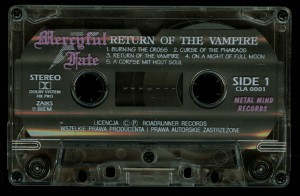 Mercyful Fate Return Of The Vampire Metal Mind Cassette side 1