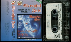 Mercyful Return Of The Vampire MG Cassette