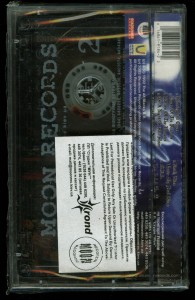 Mercyful Return Of The Vampire Moon Records back Cassette