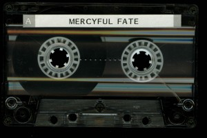 Mercyful Return Of The Vampire Promo Cassette side 1