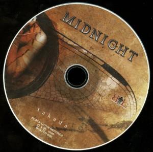 Midnigh Sakada Cd disc
