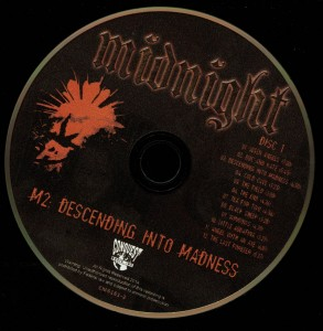 Midnight M2 Descending Into Madness disc 1