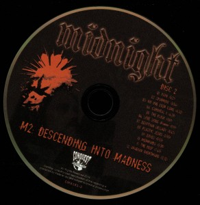 Midnight M2 Descending Into Madness disc 2