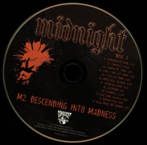 Midnight M2 Descending Into Madness disc 3
