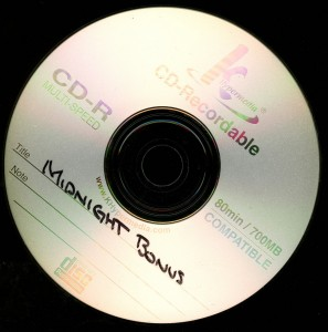 Midninght M Bonus disc