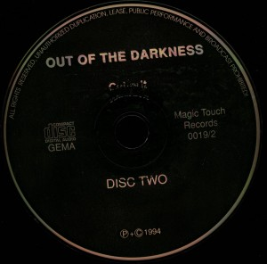 Out of The Darkness disc 2