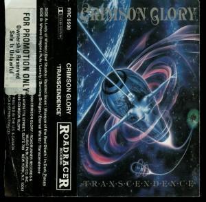 Crimson Glory Transcendence Roadracer Promo Cassette