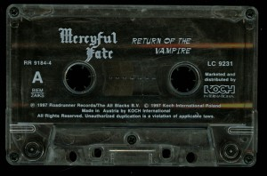 Mercyful Return Of The Vampire Koch Cassette side 1
