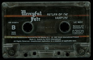 Mercyful Return Of The Vampire Koch Cassette side 2