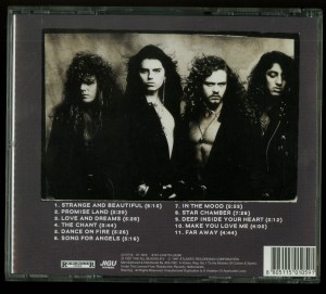 Crimson Glory Strange And Beautiful Korea CD back