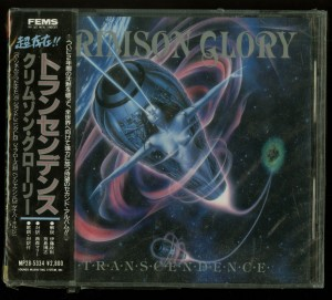Crimson Glory _Transcendence Japan PROMO Cd Far East Metal Syndicate MP28-5334