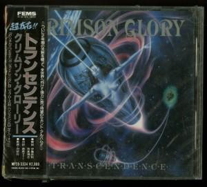 Crimson Glory _Transcendence Japan PROMO Cd Far East Metal Syndicate MP28-5334