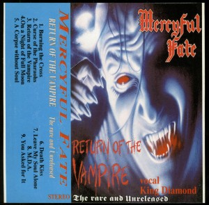 Mercyful Fate Return Of The Vampire Bulgaria Cassette