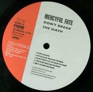 Don't Break The Oath Japan Promo label side 2