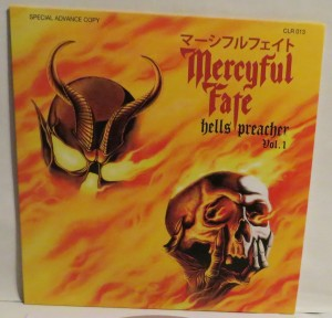 Mercyful Fate Demon Preacher clear vinyl front