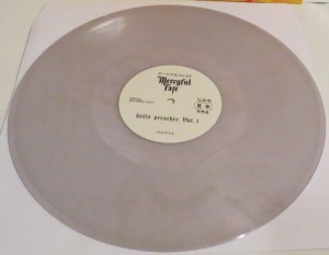Mercyful Fate Demon Preacher clear vinyl side a
