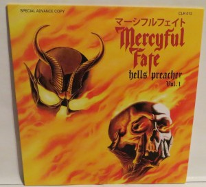 Mercyful Fate Demon Preacher red vinyl cover