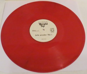 Mercyful Fate Demon Preacher red vinyl side a