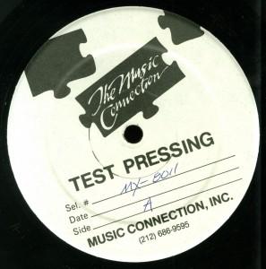Mercyful Fate Don't Break The Oath Combat Test Pressing label side A