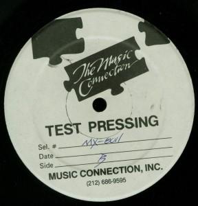 Mercyful Fate Don't Break The Oath Combat Test Pressing label side B