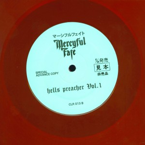 Mercyful Fate Hells Preacher Vol. 1 Red Vinyl LP label side 2