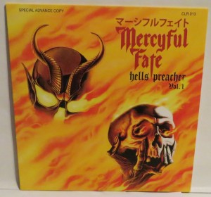 Mercyful Fate Hells Preacher Vol. 1 Yellow Vinyl LP cover