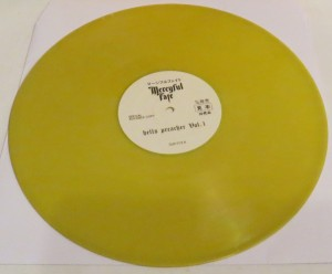 Mercyful Fate Hells Preacher Vol. 1 Yellow Vinyl LP side a