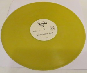 Mercyful Fate Hells Preacher Vol. 1 Yellow Vinyl LP side b