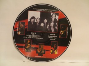Mercyful Fate Melissa Bootleg Picture Disc back